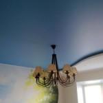 Натяжной потолок сатиновый