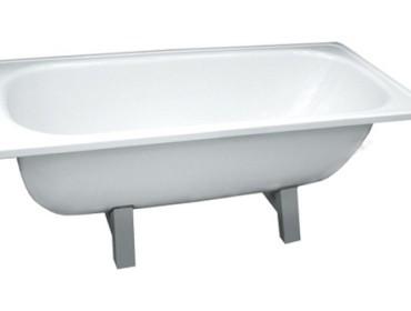 Типовая для московского рынка стальная ванна