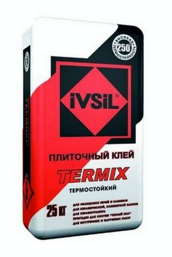 Упаковка клея Ivsil Termix