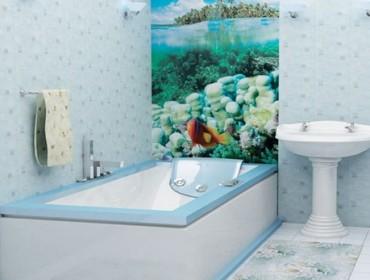ванна с пластиковой обшивкой