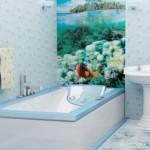 Обшивка ванны пластиковыми панелями