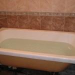 Отремонтированная ванна