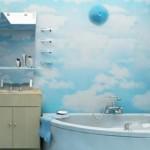 отделка ванной комнаты плитами ПВХ