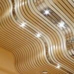А вот уже не потолок, а настоящая фантасмагория для зала