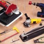 Набор инструментов для работ с плиткой
