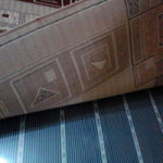 Под ковриком теплый мобильный пол