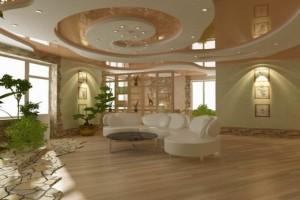 Натяжной и гипсокартонный потолки: достаточно сложное сочетание