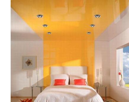 Натяжные потолки: выбираем материал