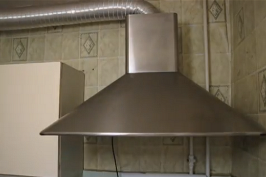 Для кухонной вытяжки гибкий воздуховод