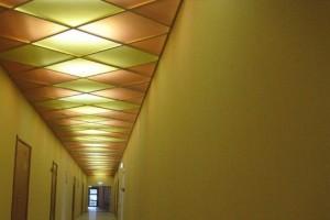 На тему «костюма арлекина» потолок