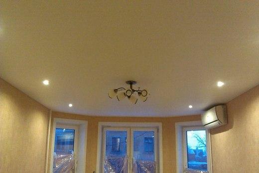Descor монохромный цветной потолок
