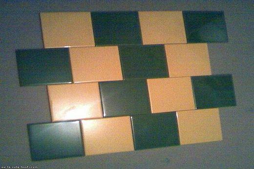 «В разбежку» - укладка плитки
