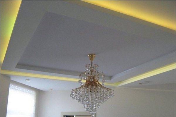 Периметральная подсветка натяжного потолка