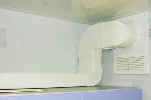 Для кухонной вытяжки жесткий воздуховод