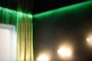 Зеленая подсветка – это еще и символ ночного покоя…