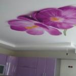 Цветы на потолке еще объемнее!