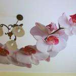 Цветы на потолке: и еще объемнее!