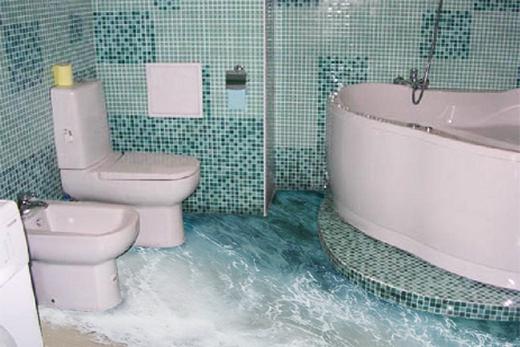 Ванная комната: дизайн пола