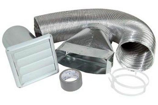 Воздуховод гибкого типа и комплектующие к нему