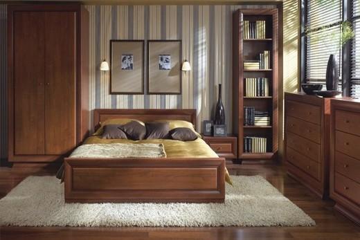 В спальне ковролин с высоким ворсом