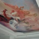 Натяжной потолок с мифологическими сюжетами