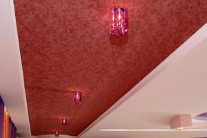 Наподобие красной дорожки Каннского фестиваля натяжной потолок