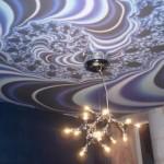Натяжной потолок: абстракция с аллюзией