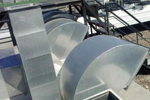 Металлические сварные воздухоотводы