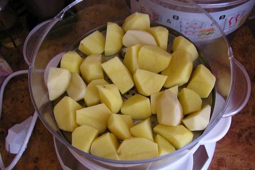 Картошка в пароварке рецепты с фото