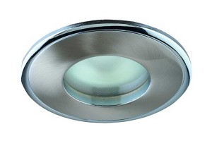 Ободок у этого светильника плоский поэтому термокольцо за ним не спрячешь