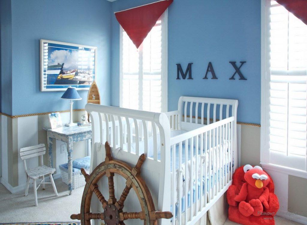Идеи дизайна детской комнаты для мальчика младенца