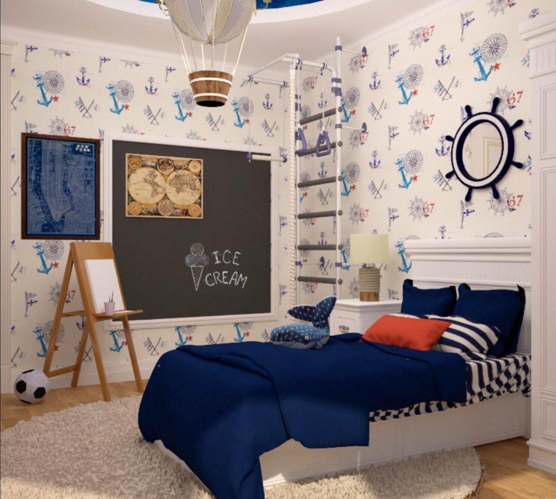 Идеи дизайна детской комнаты для мальчика 10 лет