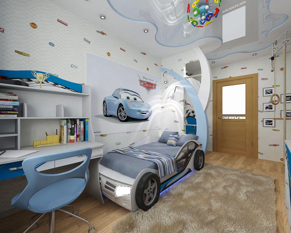 Идеи дизайна детской комнаты для сына