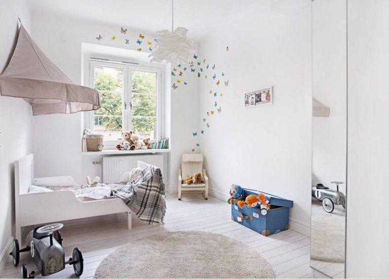 Идеи дизайна детской комнаты для мальчика в пастельных тонах
