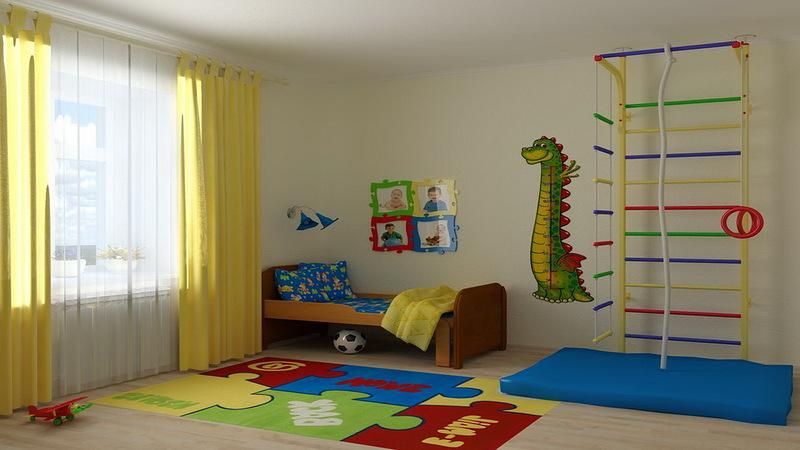 Идеи дизайна детской комнаты для спортивного мальчика