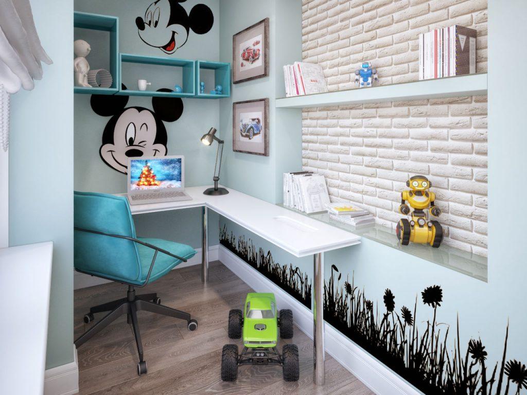 Идеи дизайна детской комнаты для мальчика старше 6 лет