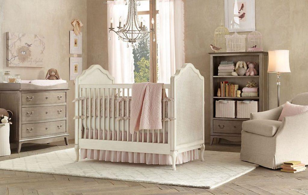 идеи дизайна детской комнаты для девочки с напольным покрытием