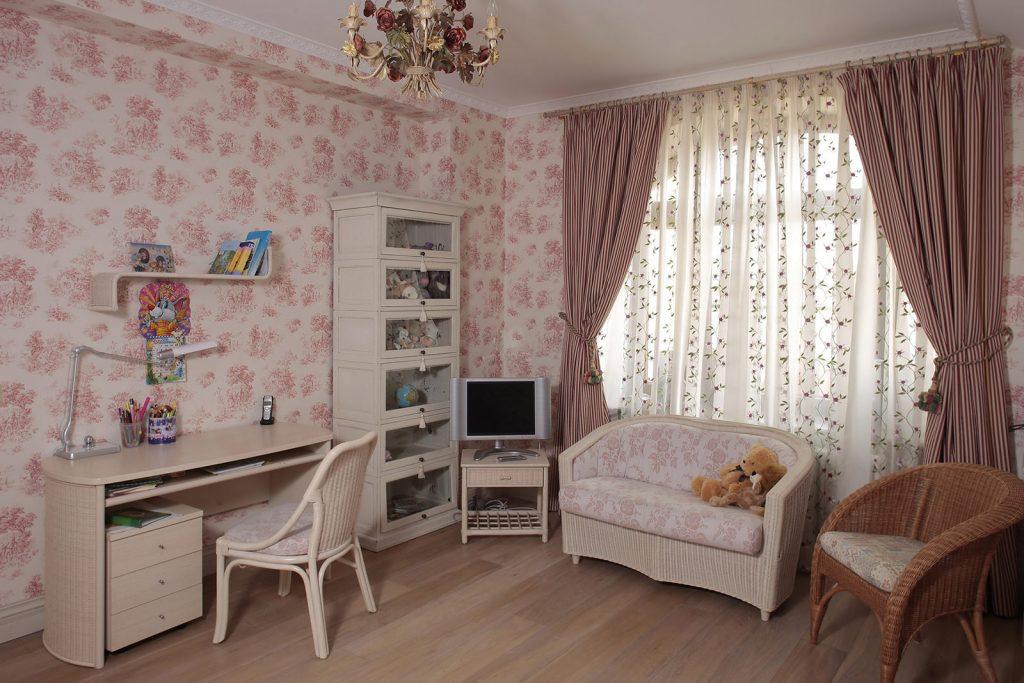 Идеи дизайна детской комнаты для девочки в стиле прованс