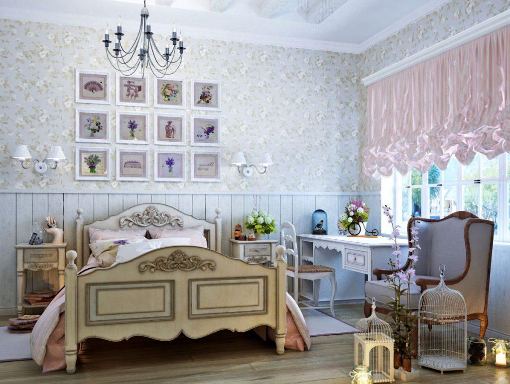 Идеи дизайна детской комнаты для девочки в стиле модерн