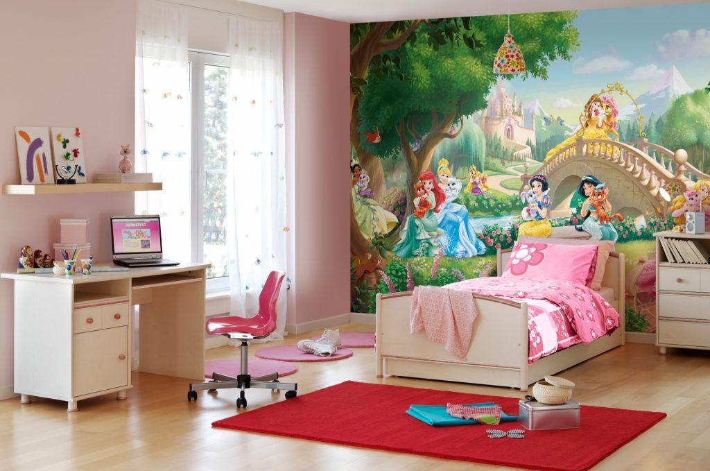 Идеи дизайна детской комнаты для девочки в стиле сказочных героев