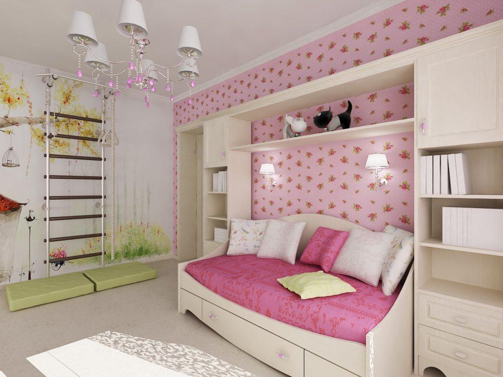 Идеи дизайна детской комнаты для девочки 11 лет