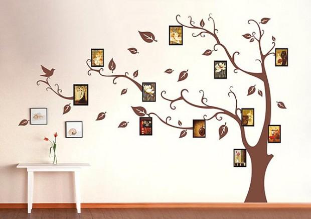 Рисуем на стене чудо-дерево