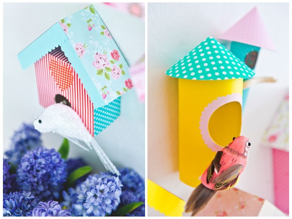 Украшаем стены в детской бумажными поделками
